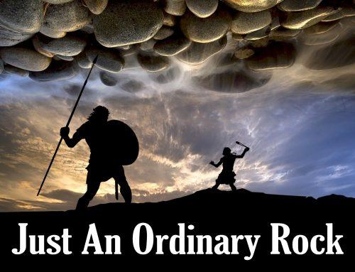 Just An Ordinary Rock…