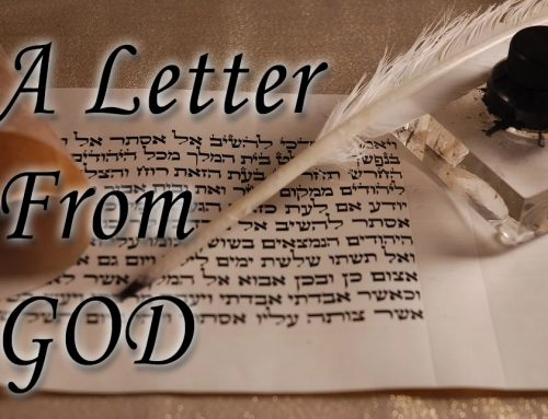 A Letter from God…